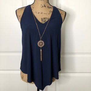 NWT First Love Tank Top w/ a Detachable Necklace.